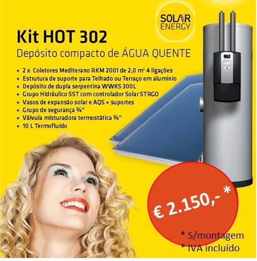 Circulação Forçada Kit Hot 302