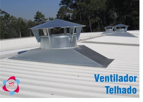 Ventilação Mecânica no Telhado