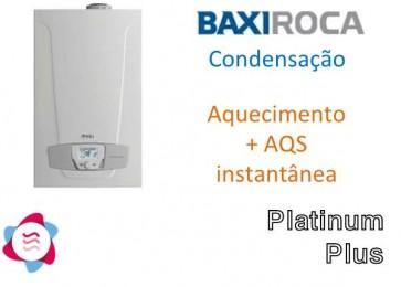 Caldeira Gás Condensação Platinum Plus
