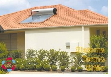 Energia Solar - Termosifão