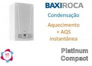 Caldeira Gás Condensação Platinum Compact